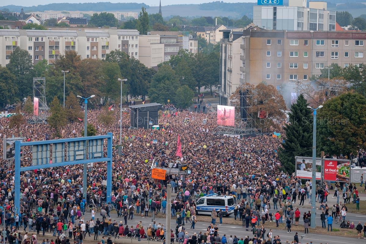 65000 waren in Chemnitz #wirsindmehr
