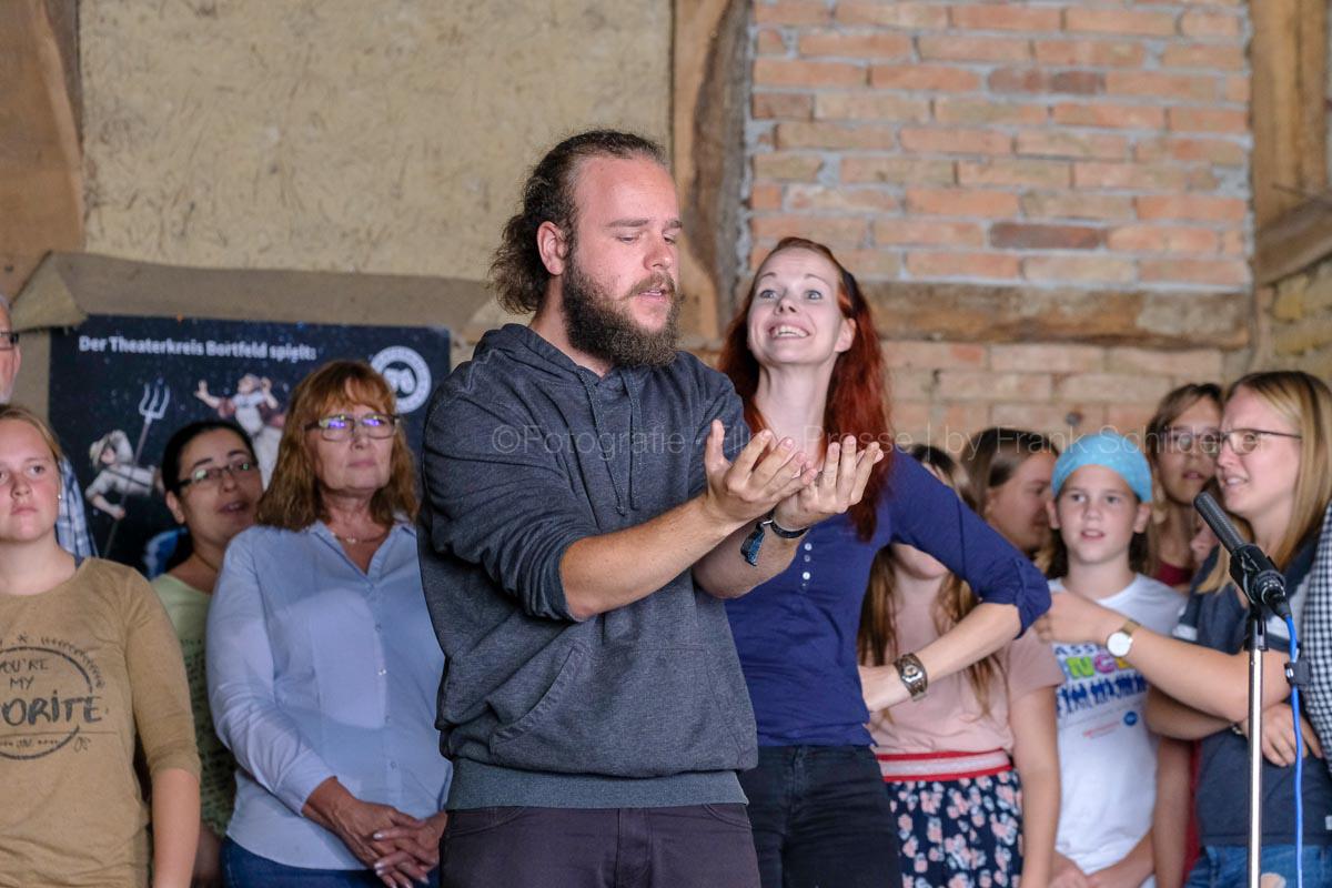 Theaterkreis Bortfeld probt Erasmus Montanus